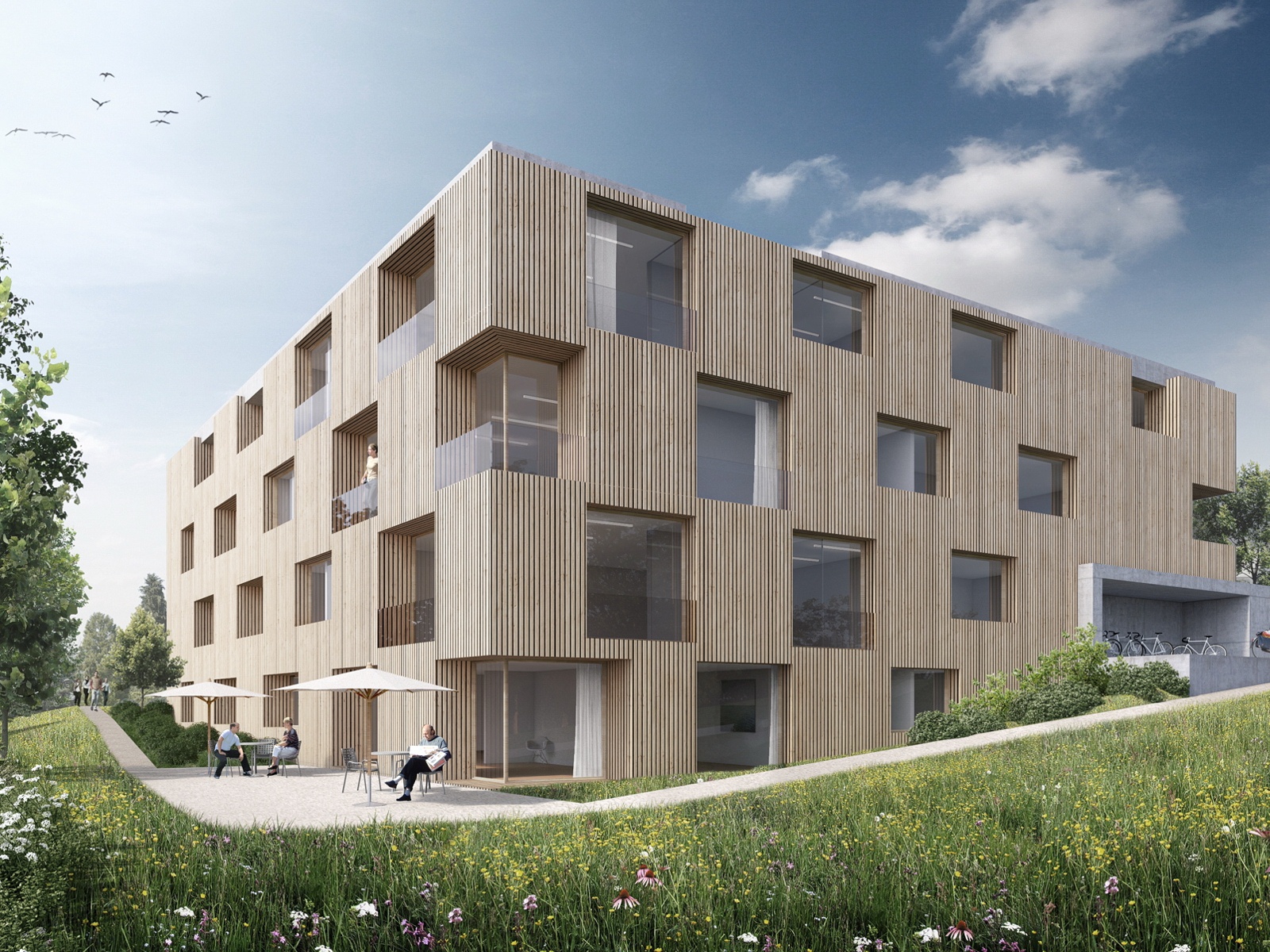 Wohnheim f r autisten bern be 2013 - Bachmann badie architekten ...