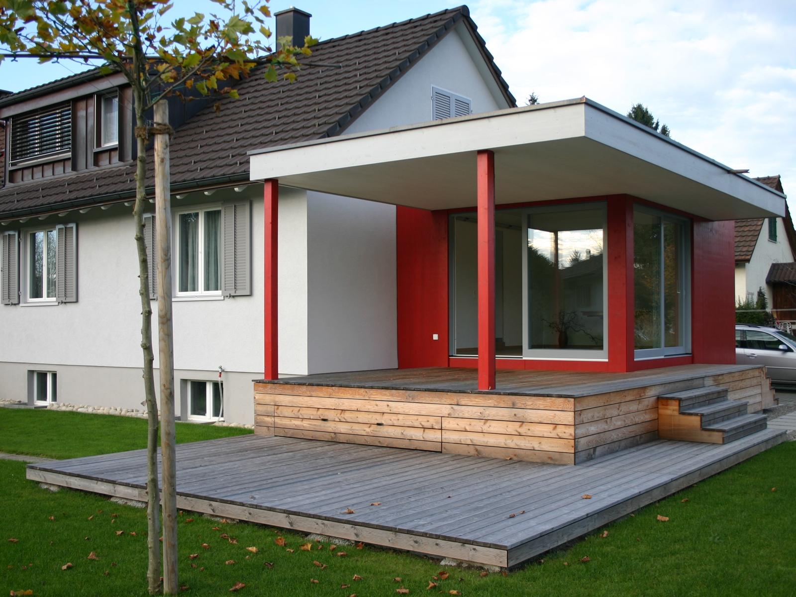 Wohnraumerweiterung wetzikon zh 2005 bis 2006 - Bachmann badie architekten ...